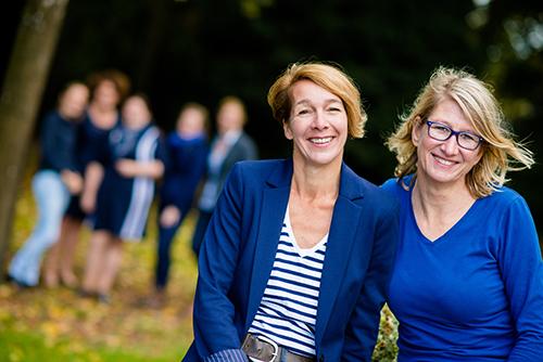 Monique Buisman en Carine van Schaaik